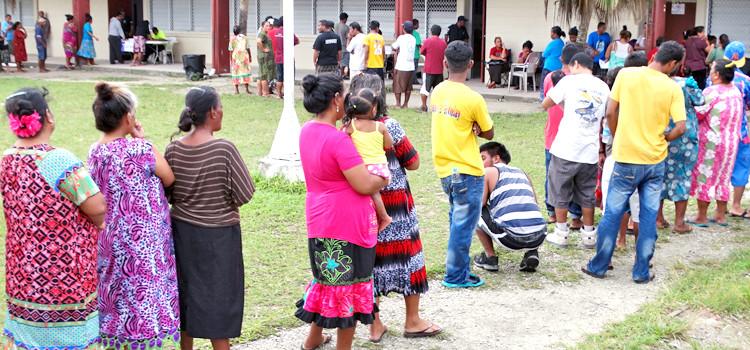 Youth push for Nitijela