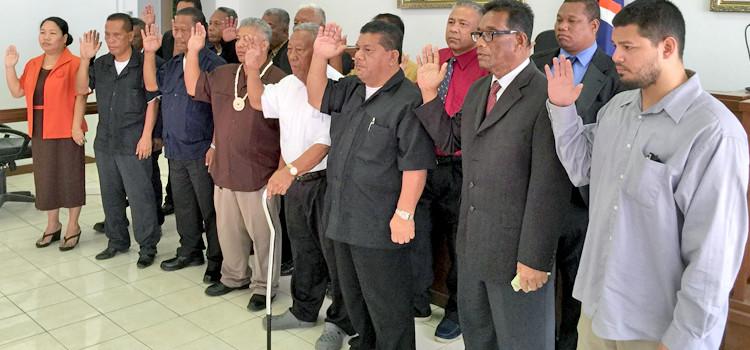 KBE council ceremonies