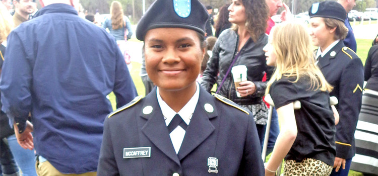 You're in the army now JJ!