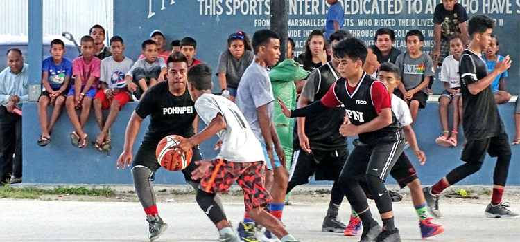 Team Pohnpei sweeps Majuro