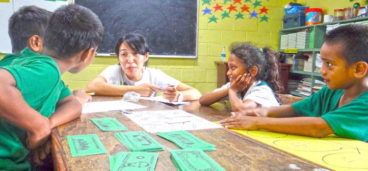 Rairok shows math skills