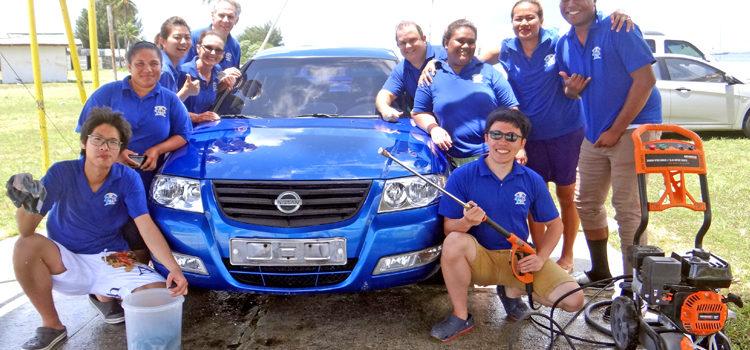 Free car wash and health check
