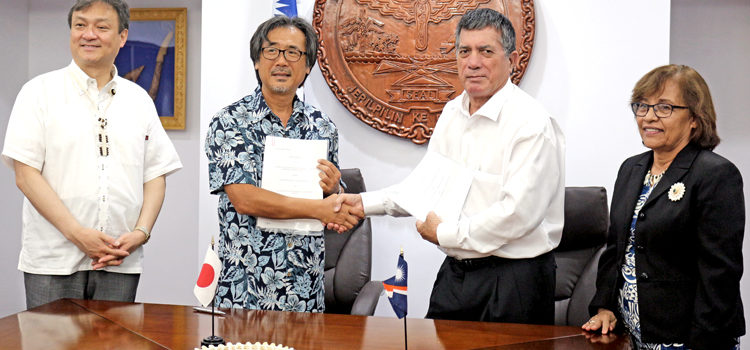 Japan funds Ebeye solar plan