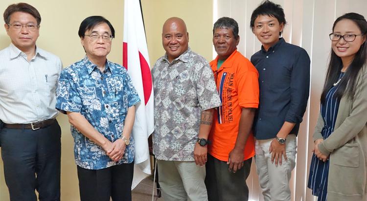 Japan backs canoe program