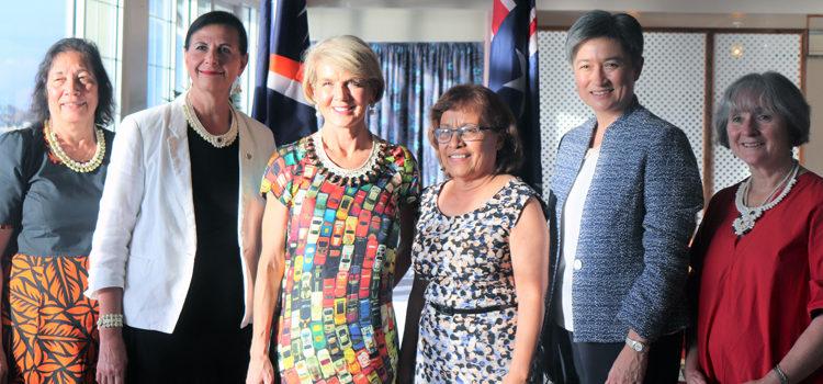 OZ officials visit Majuro